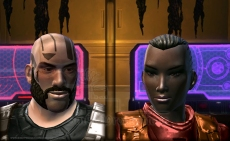 Mandalore (Rich) and his wife Corinne (from Healers of the Force, Story 6, Star Wars Fan-Fiction by Celinka Serre)